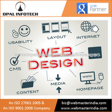 Favourable Price Websites Design & Development Services Highly Demanded from India