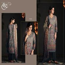 Kimora Heer -29 Model Silk With Ari Embroidery Un-Stitched Straight Pattern Salwar Suit kameez For Women Indian & Pakistani