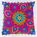 Beautiful embroidered pillow cases handmade suzani wholesale sofa decor cushion cover