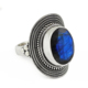 Precipitant 925 sterling silver ring labradorite gemstone silver jewelry suppliers handmade silver rings