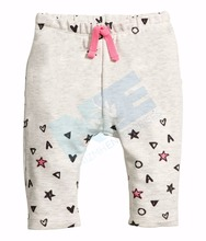 Printed BabyUnisex Newborn Toddler Baby Trouser Tapered Ankle Pants