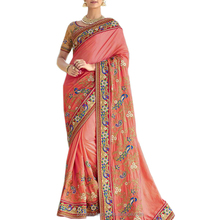 Heavy Embroidery Georgette Saree