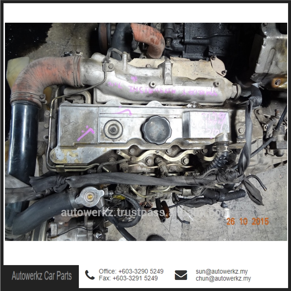 Good Condition Mitsubishi Engine Gear Box Parts for Pajero 4M40