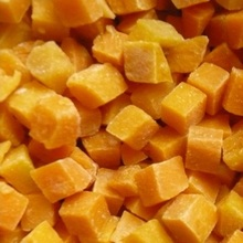 Hot Selling Butternut Squash Bulk Iqf Frozen Yellow Pumpkin Diced for sale