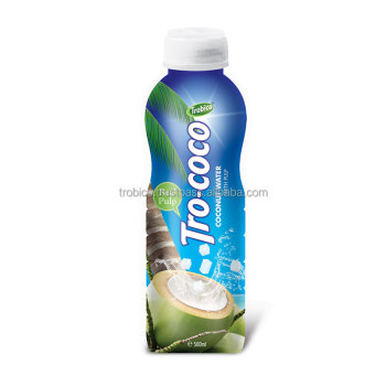 500ml PP Bottle coconut water from Trobico's farm-VietNam Manufacturer-OEM Fruit Juice-From Trobico Brand
