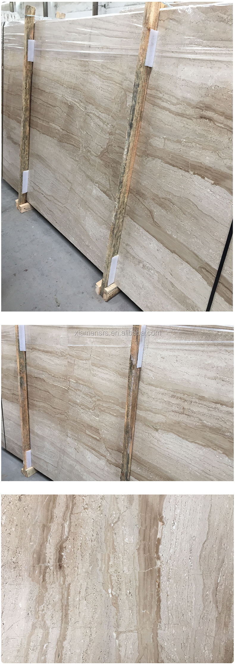 Golden Tino Dino Beige Marble for Wall Tile or Flooring Tile
