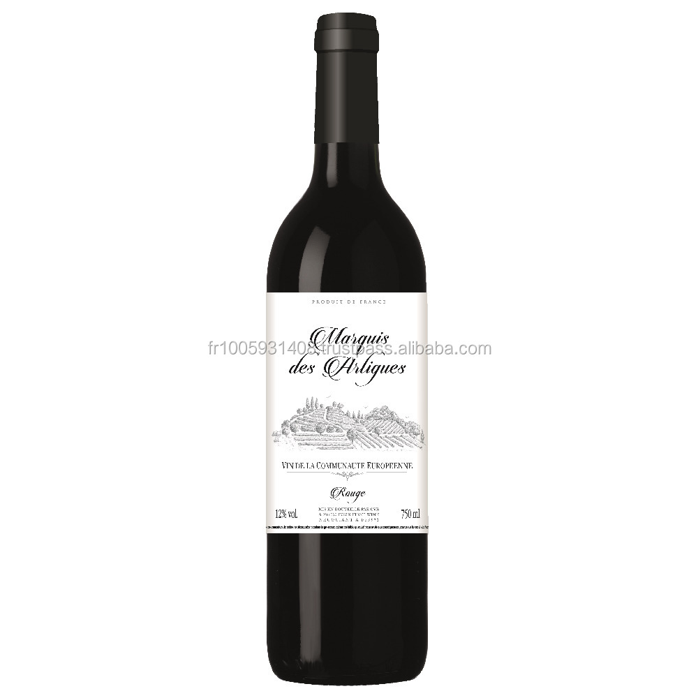 Marquis des Artigues Vin de la Communaute Europeenne high quality red wine