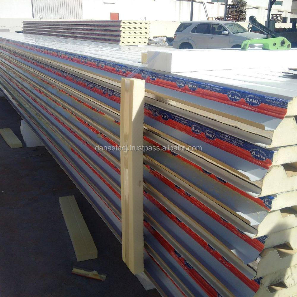 Roofing/Cladding and Wall/Ceiling purpose Sandwich panels - Dubai
