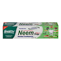 Smarth Neem Ayurvedic Toothpaste for Stronger Whiter Teeth and Fresh Breath