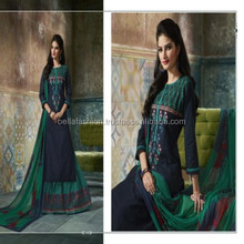 Indian Pakistani Pure Cotton Special Printed Chiffon Dupatta designer Indo Western suit