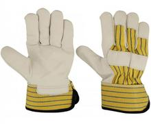 COW GRAIN LEATHER GLOVES OF VERY HIGH QUALITY