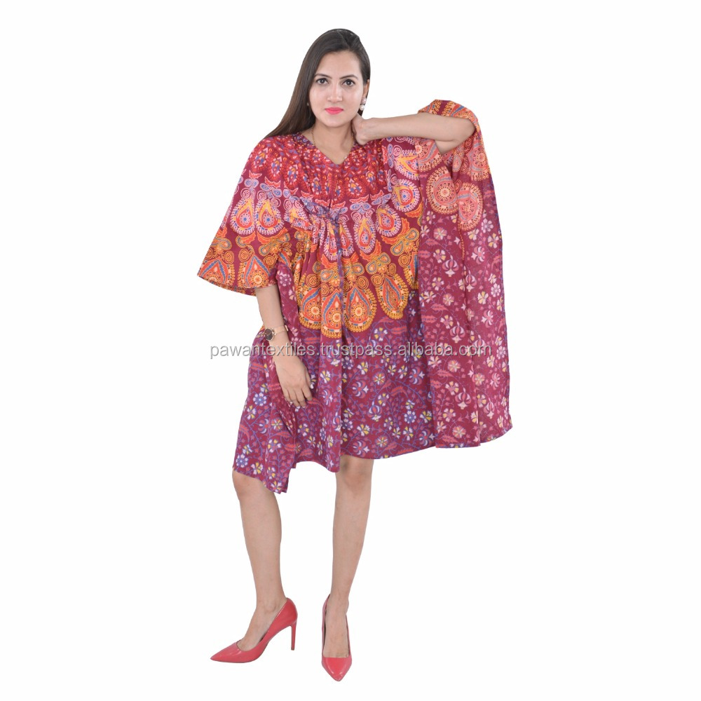 Kaftan Dress Designs Hot Pink Stunning Gold Detailing Neck Moroccan Kaftan mandala dress