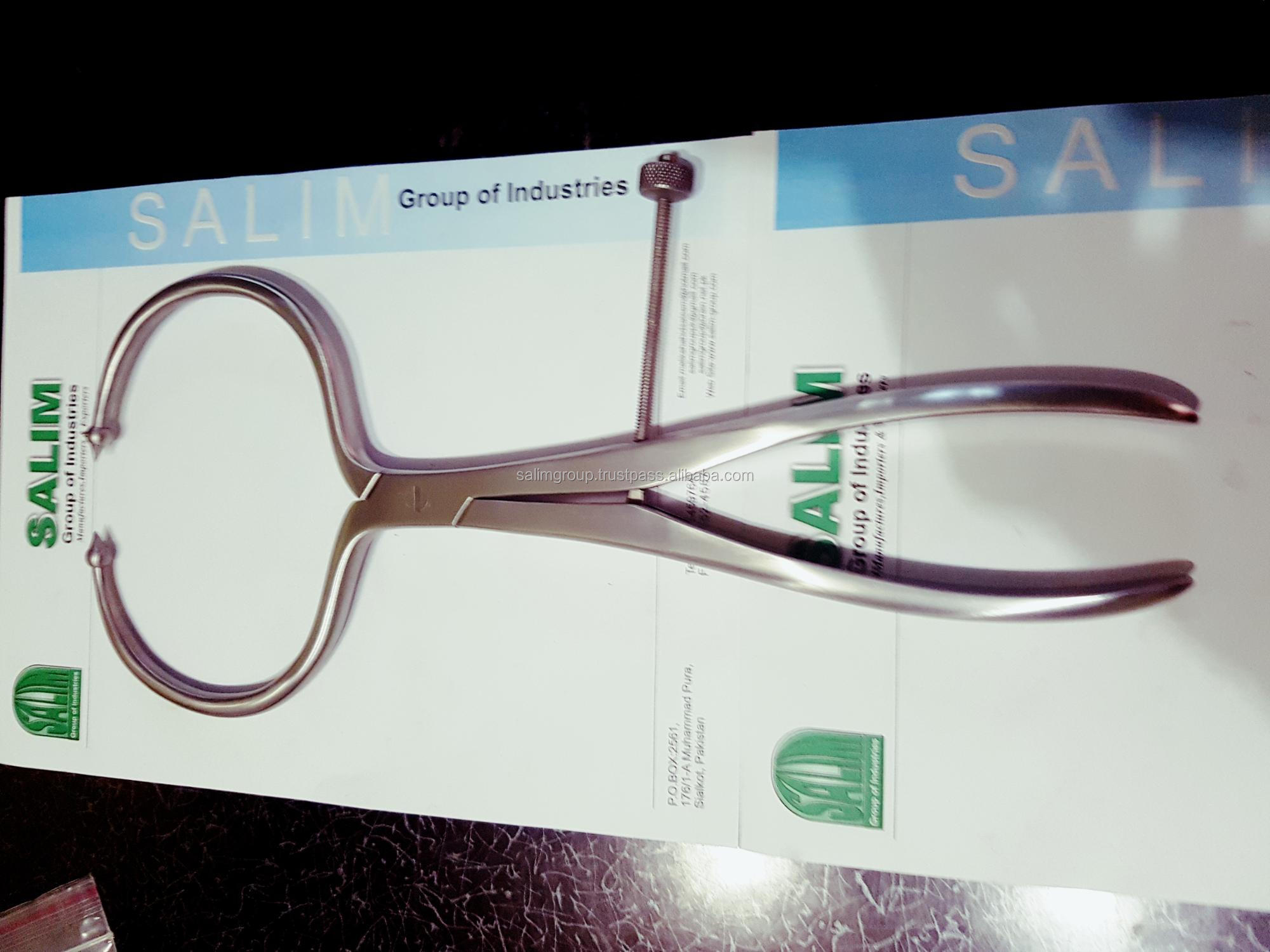"13.75"" PELVIC REDUCTION FORCEPS ( With Ball Tips ) ORTHOPEDIC INSTRUMENTS"