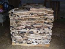 Wet and Dry Salted Cow and Donkey Hides
