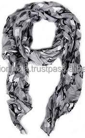 polyester infinity scarf for lady