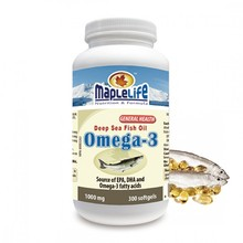 MAPLELIFE CANADA:PRIVATE LABEL EPA/DHA 18/12 300 SOFTGELS FISH OIL OMEGA 3 SUPPLEMENT