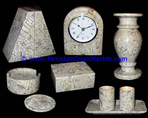 DECORATIVE CLOCKS ROUND SHAPE HANDCARVED NATURAL STONE