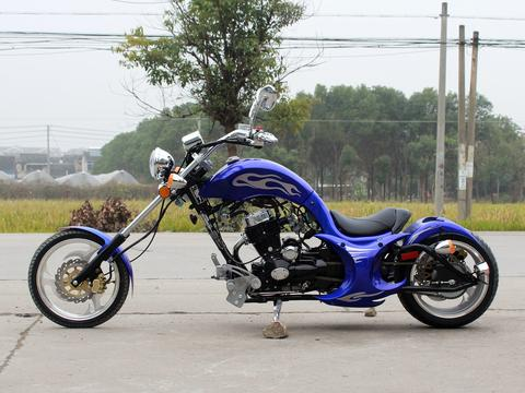 100% 2017 VILLAIN C H O P P E R 250CC STREET LEGAL MOTORCYCLE