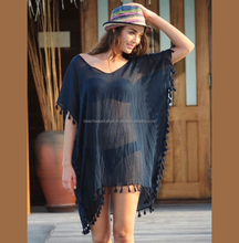 Hot & Glamours Collection For Girl's Freshers Wear Rayon Caftan Beach Cover Ups Poncho Available in All Colors