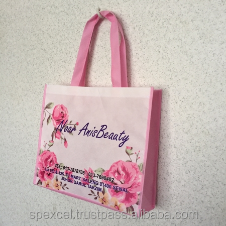 Customized Non Woven Eco Bags with Full colors printing| Good Quality & Reasonable Price | Direct from Malaysia Factory