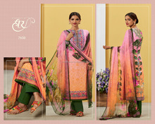 printed cotton salwar kameez suit