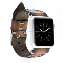 Genuine Leather Band for Apple Watch for apple watch band 38mm / 42mm with adapter
