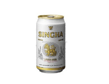 Singha Thai Lager Beer 330ml.