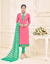 Wholesale Cotton Salwar Suit Embroidery work