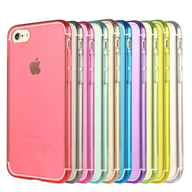Ultra Thin Slim TPU Gel Cover Phone Case Pouch for Apple iPhone 7 7 Plus 6s 6 Plus 5 5s 5c