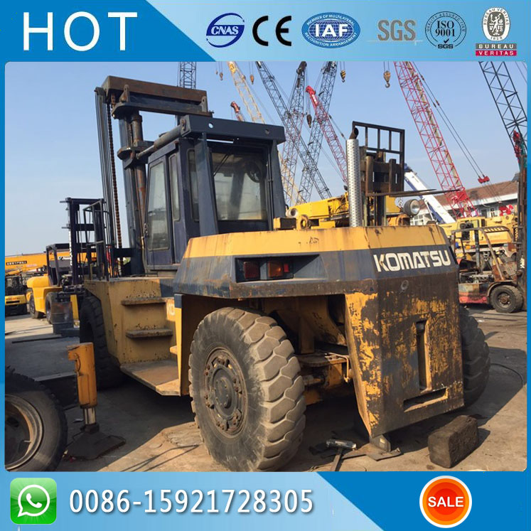 FD300-7 FD300 30 Ton Heavy Duty Used Komatsu Forklift Top Sale With Cheap Price