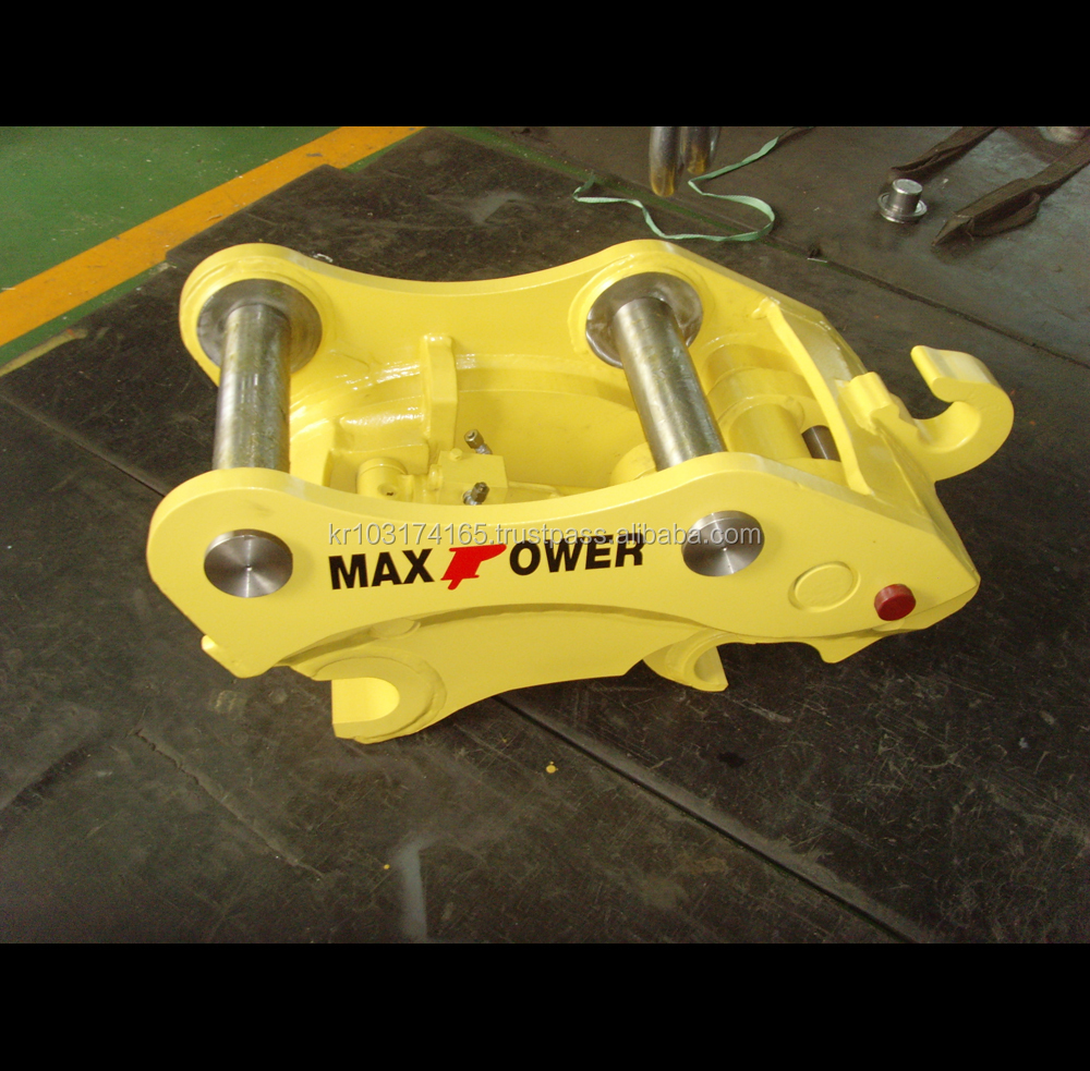 2018 New Made in Korea Construction Equipment_MAXPOWER QUICK COUPLER