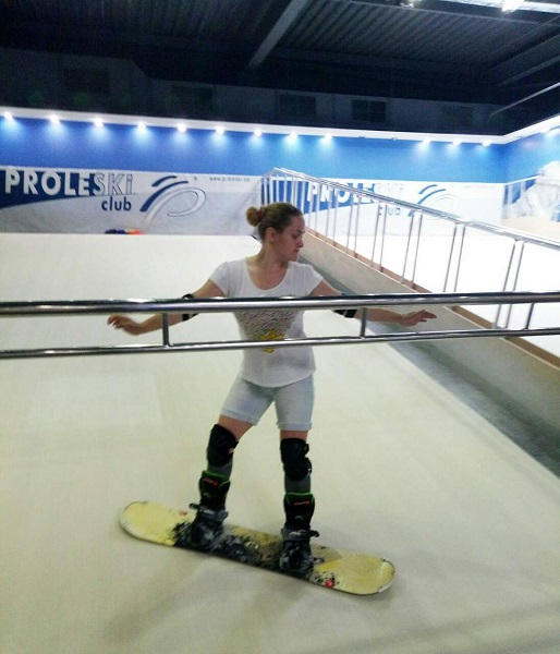 Buy in India Infinite slopes Proleski indoor simulator for body training Ski and snowboard on revolving slopes