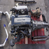 USED JDM Nissan Silvia S15 SR20DET Engine 6 Speed Transmission 240SX