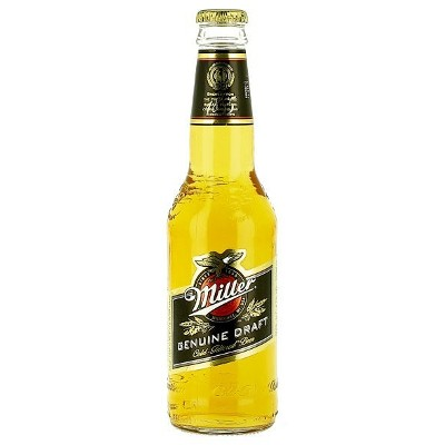 Miller Beer Bottle 330ml (EU label) 4.7%