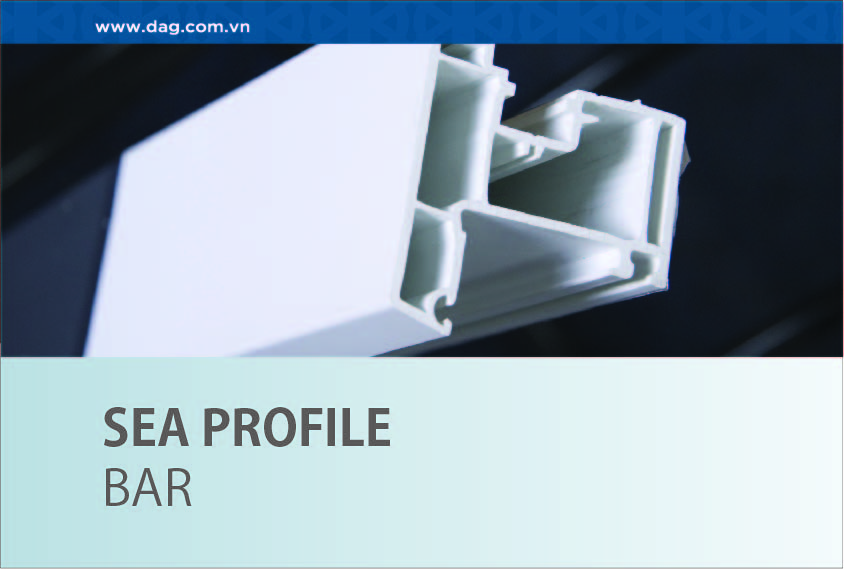 Sea uPVC Profile for door and window