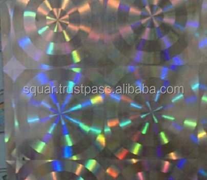 PLASTIC HOLLOGRAPHIC FILM