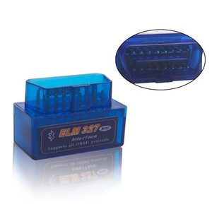 Mini Elm327 Bluetooth OBD2 V1.5 Elm 327 V 1.5 OBD 2 Car Diagnostic-Tool Scanner Elm-327 OBDII Adapter Auto Diagnostic Tool