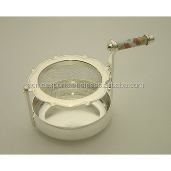 stainless Steel Tea Strainer Of Stainless Steel For Professional Use