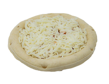 Tubito's Pizza 6 Inch Premium Frozen New York Style Cheese Pizza, Raised Edge Par Baked