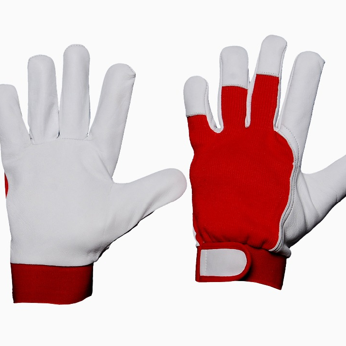 Working Glove With Lycra Cloth