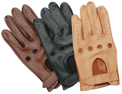 Black & Berry Two Tone Driving Gloves good quality driving mens leather gloves