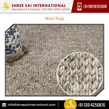 Top Quality Widely Demanded Wool Rugs from Reputed Seller