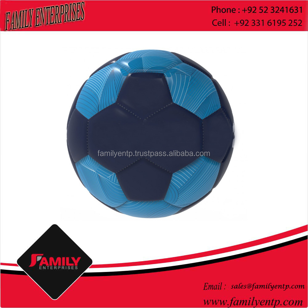 Factory Made Hand Sew Promotional PVC Leather Soccer Ball