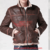 Leather jacket with Genuine Leather along with zipper closure (Zuu-01)