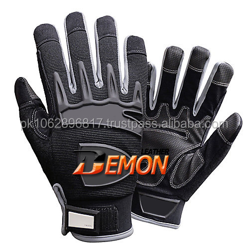 Safety Impact Gloves Oil & Water Resistant Lined Safety Gloves/Best quality Gloves