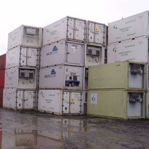 Used Shipping Containers 20ft 40ft Refrigerated Containers For Sale