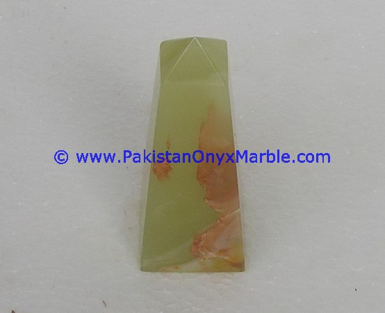 PAKISTANI SUPPLIER ONYX OBELISKS HAND CARVED GREEN ONYX