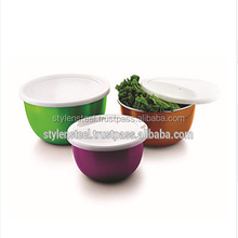 stainless steel thermal serving bowl