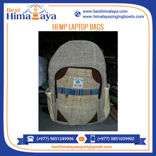 Wide Range of Laptop Hemp Backpack Available at Wholesale Rate