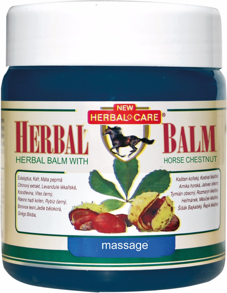 Herbal balm with horse chestnut - Massage 500ML